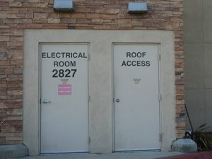 Commercial Lock Repair - Electrical Room Door