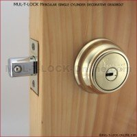 Residential Lock Security - Mul T Lock