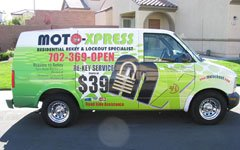 Las Vegas locksmith - Van